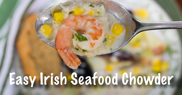 Easy Irish Seafood Chowder Recipe