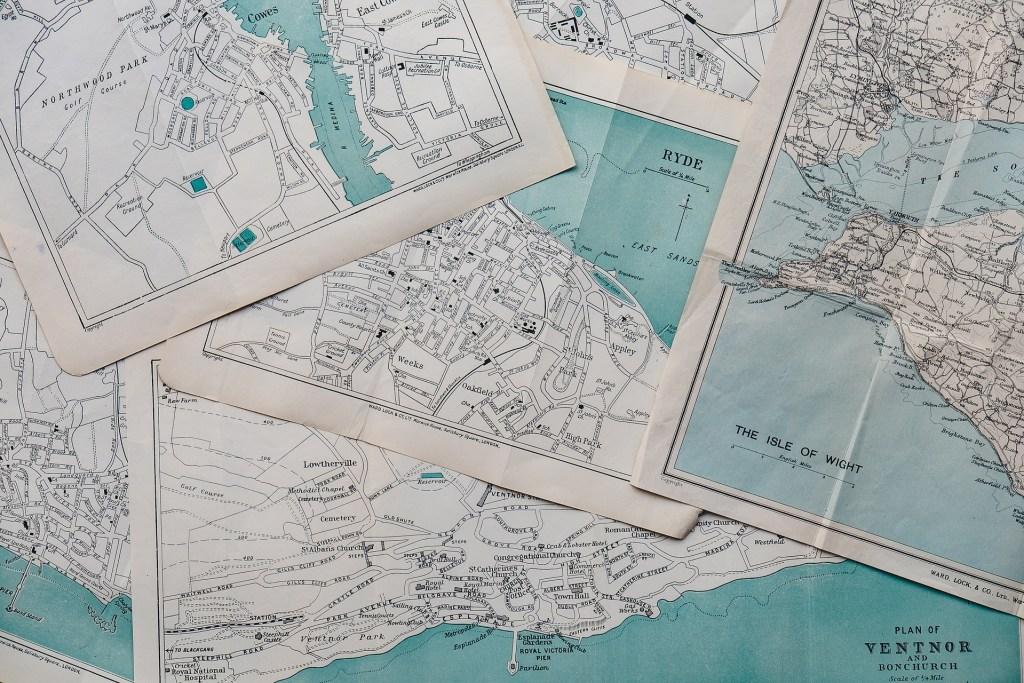Map souvenirs