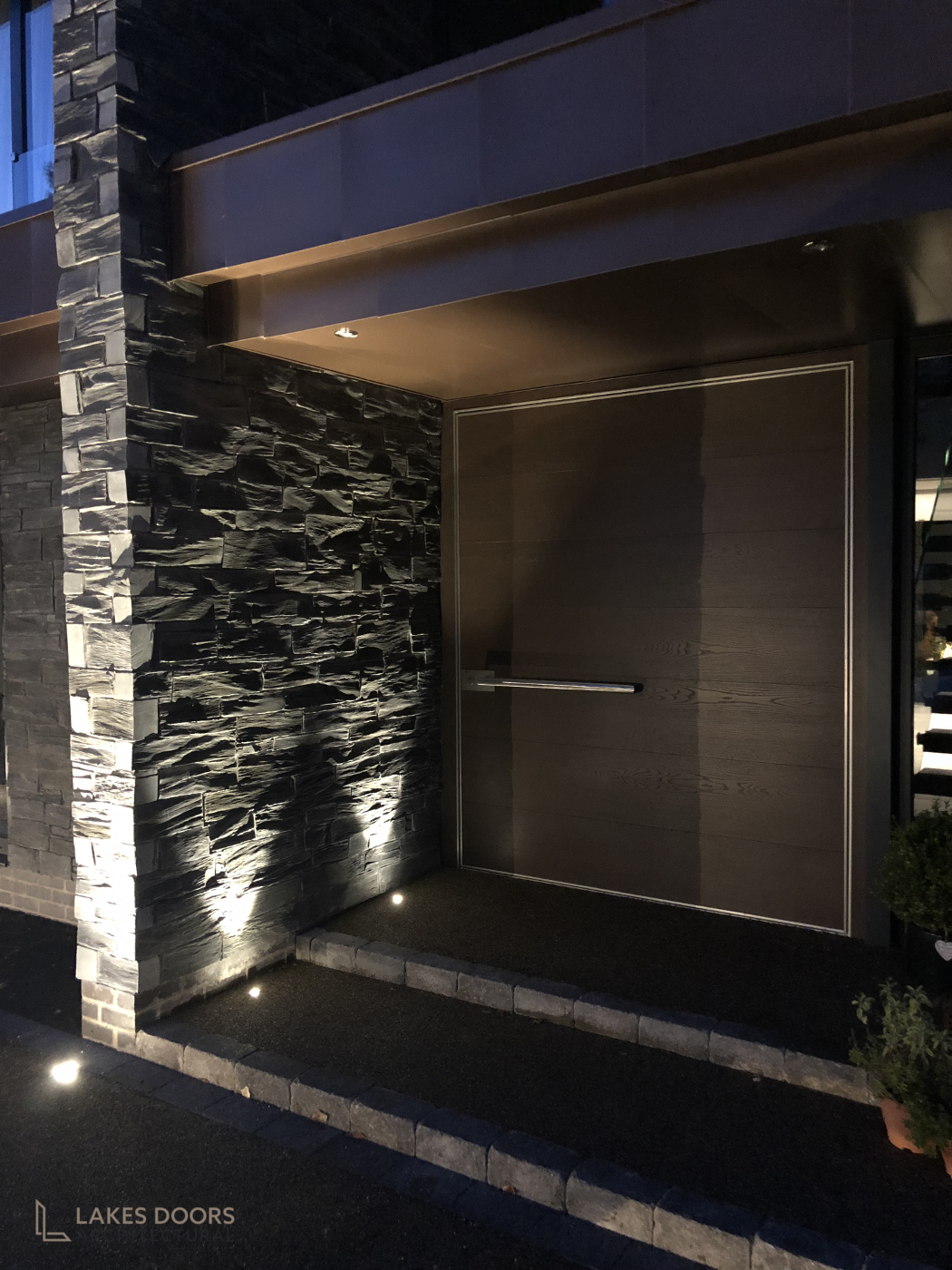 Oak Pivot Door