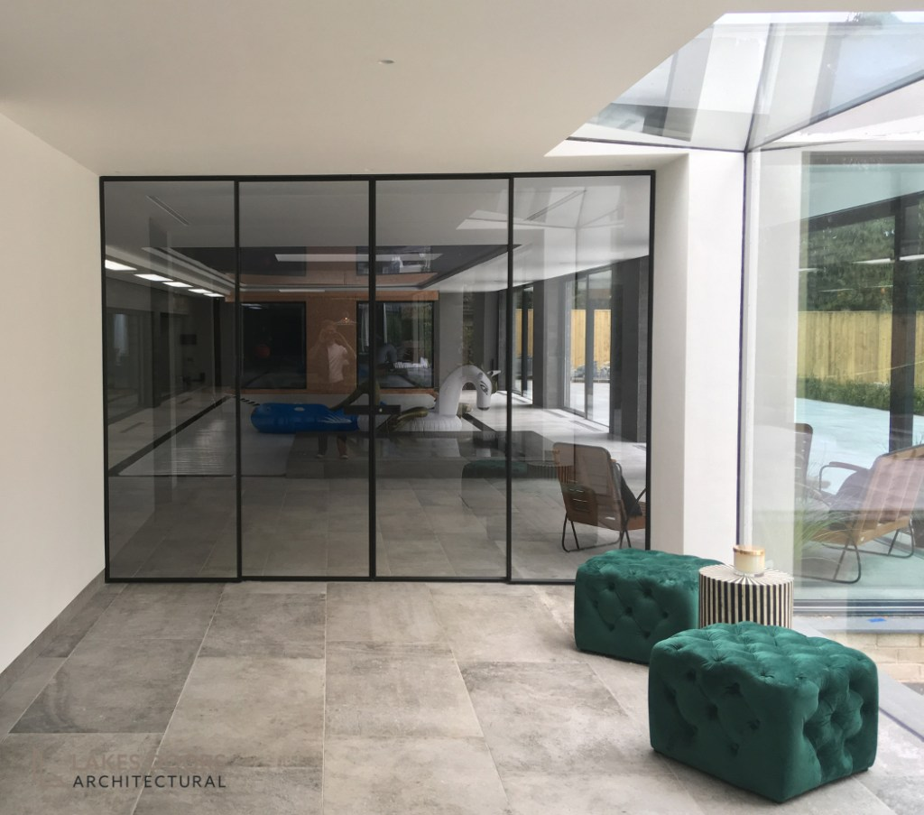 White Lodge Gidea Sliding Doors