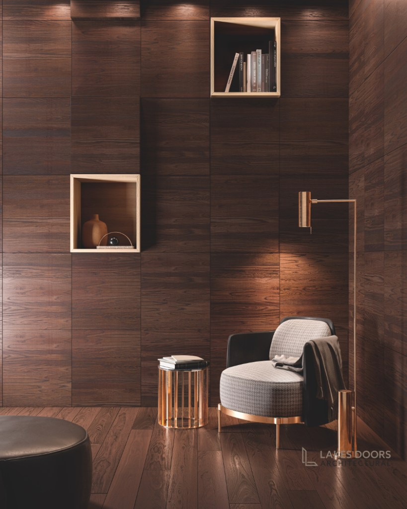 Dark Contemporary Wall Panelling