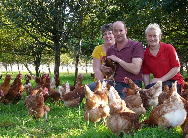 The Lakes Free Range Egg Company Stuart and Wendy's Farm - The Lakes