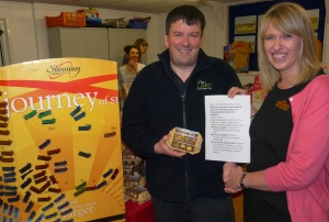Slimming World receives eggs from lakes Free Range Egg Co