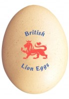 British Red Lion Egg