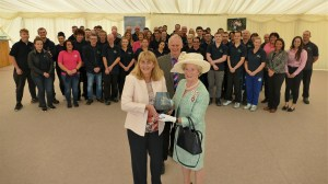 The Lakes Team receives the Queen's Award