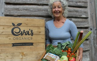 Organic September - Evas sells Lakes Organic eggs
