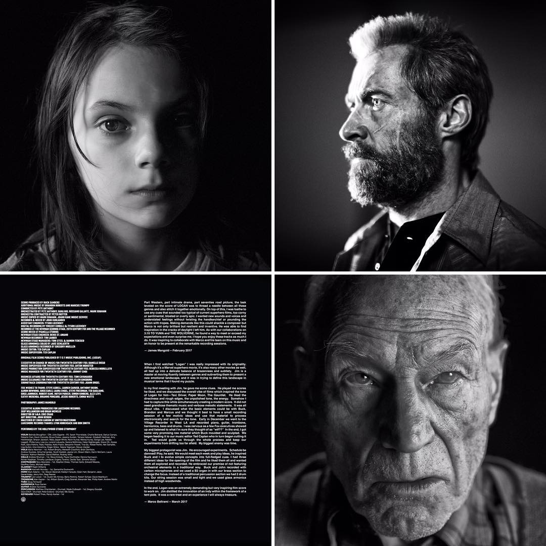LOGAN DELUXE COLLECTORS EDITION GATEFOLD VINYL OUT NOW!   Film Music ...