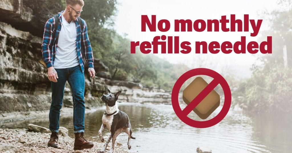 No monthly refills