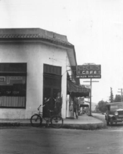 Cecil's Restaurant 1930s