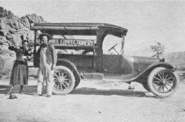 Newcomb's Confectionery truck