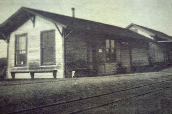 The first Lakeside Depot