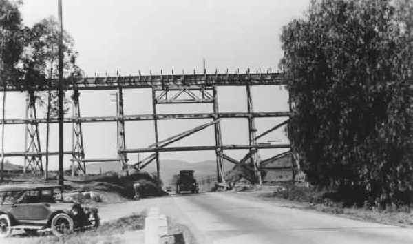 Los Coches Trestle over Highway 80
