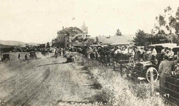 The Lakeside Auto Speedway 1912
