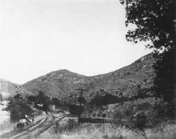 Foster Station c.1906
