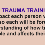 Lakeside's trauma training goal: positively impact each person who takes our courses so each will be forever changed in their understanding of how trauma impacts people and affects their behaviors.
