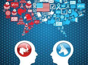Political cartoon Republicans vs. Dems