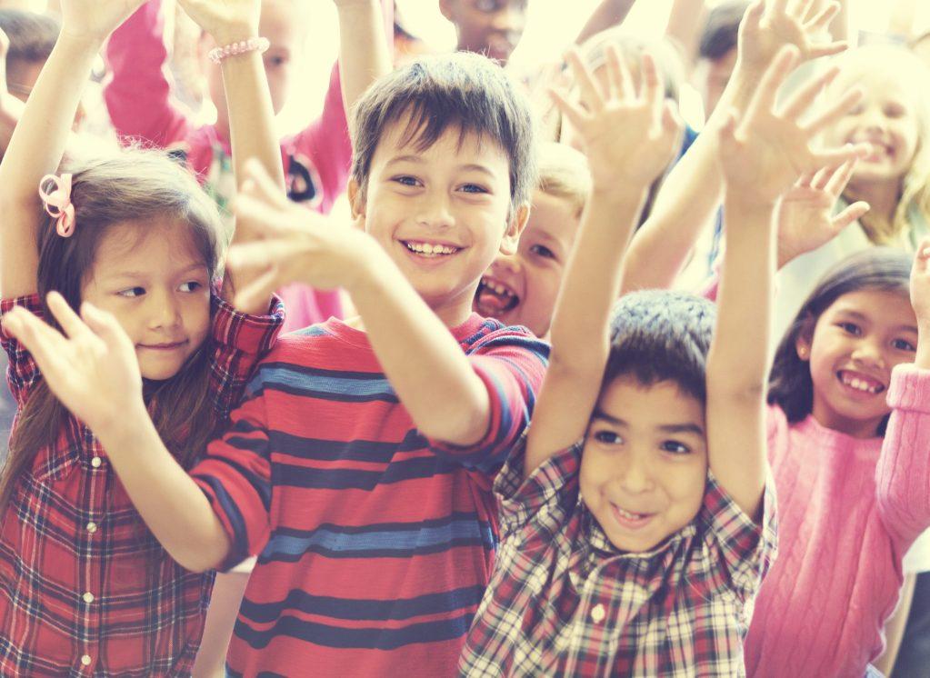 Diverse Ethnic Kids Concept