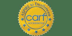 CARF rehab logo