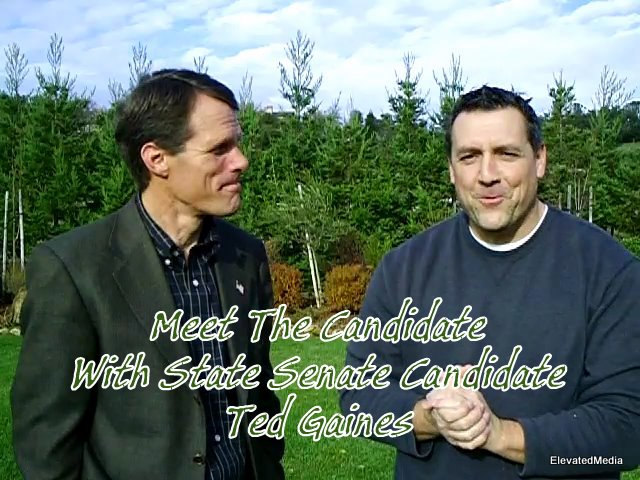 Meet The Candidate…Video Chat with State Senate Candidate, Ted Gaines
