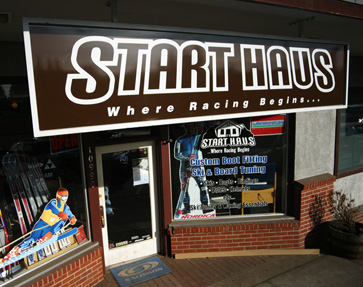 Be Sure to Visit Start Haus…..The Best Ski Shop in the Country!