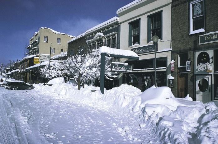 Winter Adventures in Truckee!