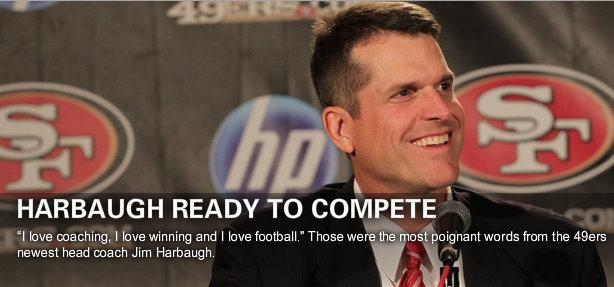 Stanford Coach Jim Harbaugh to Coach 49ers