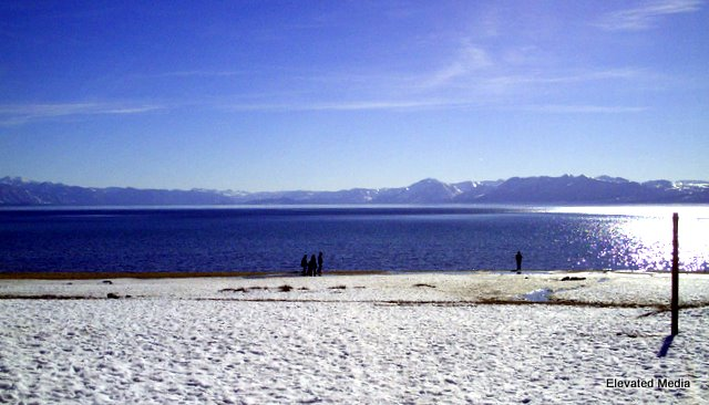 Snow, Sun & Sand in Kings Beach for Martin Luther King Day