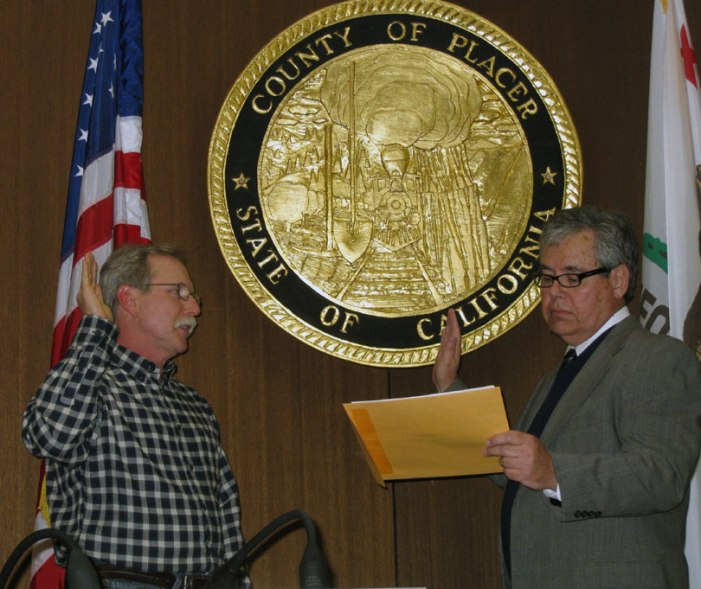 Placer County Supervisors Take Oath of Office