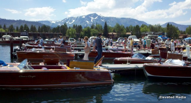 South Tahoe Wooden Boat Classic 2011…Floating Art On Display