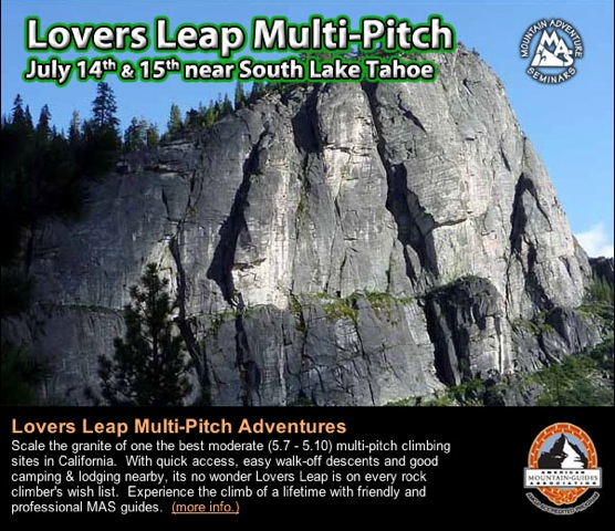Lovers Leap Multi Pitch