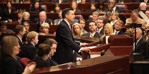 Governor Brian Sandoval's State of the State Address
