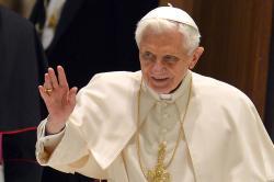Pope Benedict XVI announces his resignation at end of month