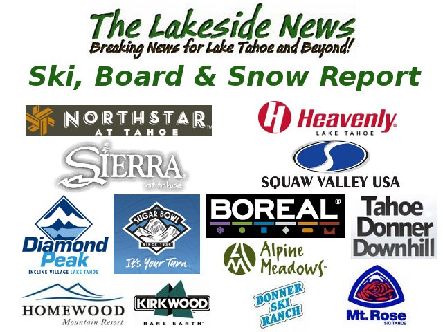 Tahoe Snow Report For January 8th, Many Resorts Closed Or On Reduced Operations Today
