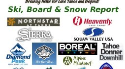 Tahoe Snow Report For January 13.  Feet Of Powder, Goomers & More Await For MLK Weekend