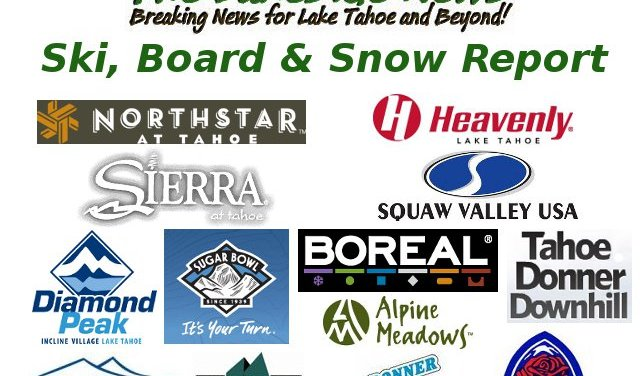 Tahoe Snow Conditions For January 15th…Time To Play