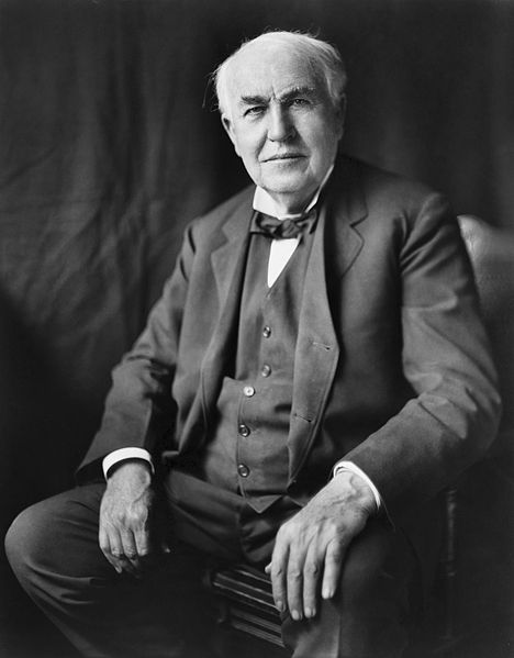 Thomas Edison on The Wisdom of Perseverance