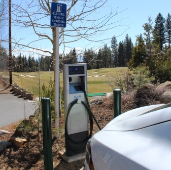 IVGID ChargePoint Stations Now Installed