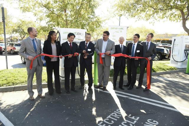 """DRIVETHEARC"" EV Fast Charging Corridor Breaks Ground In Northern California"