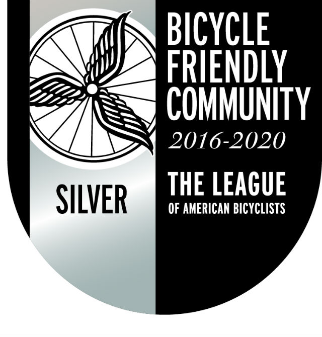 City Receives Silver Status In Bicycle Friendly Report Card