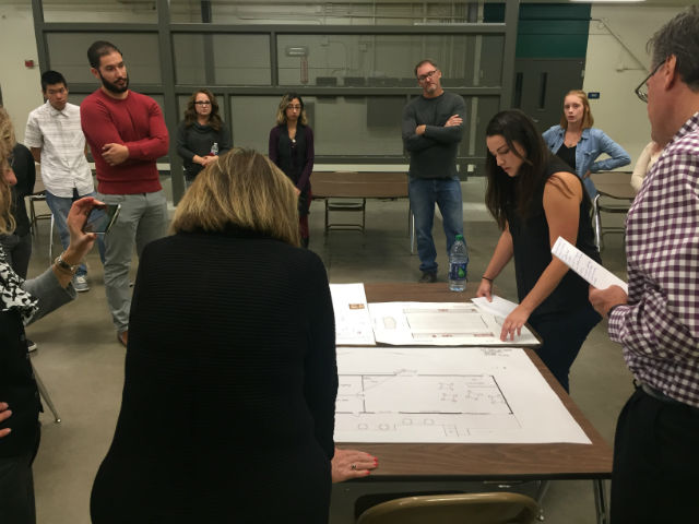 College Class With Designs To Transform Train Station