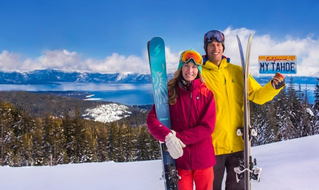 """""""Plates For Powder"""" Is Back: Buy A Tahoe License Plate & Ski For Free"""