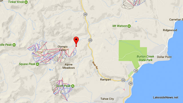 Traffic Update….Vehicle vs Pedestrian Near Squaw