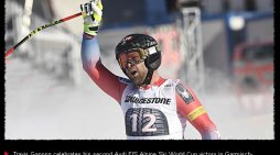 Squaw Valley's Ganong Wins Kandahar Downhill