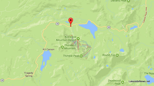 Traffic Update….Volvo Stuck In Snowbank & Vehicular Bumper Cars On Hwy 88