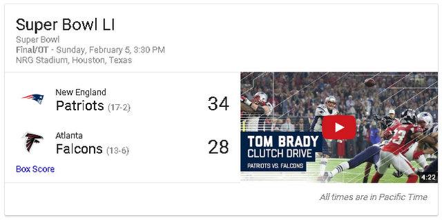 Super Bowl LI Patriots 34 – Atlanta 28…A Game Of Superlatives