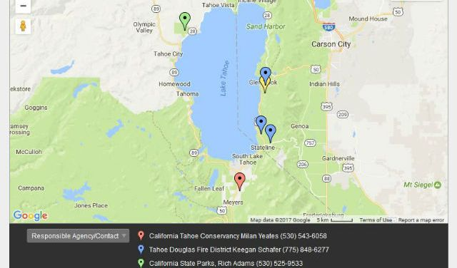 Lake Tahoe Basin Prescribed Fire Operations May Continue