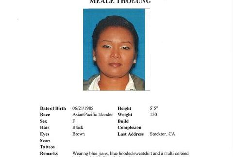 Have You Seen Meale Thoeung from Stockton?  Last Seen Near Heenan Lake
