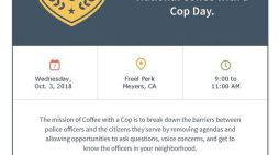Coffee with a Cop – October 3 2018