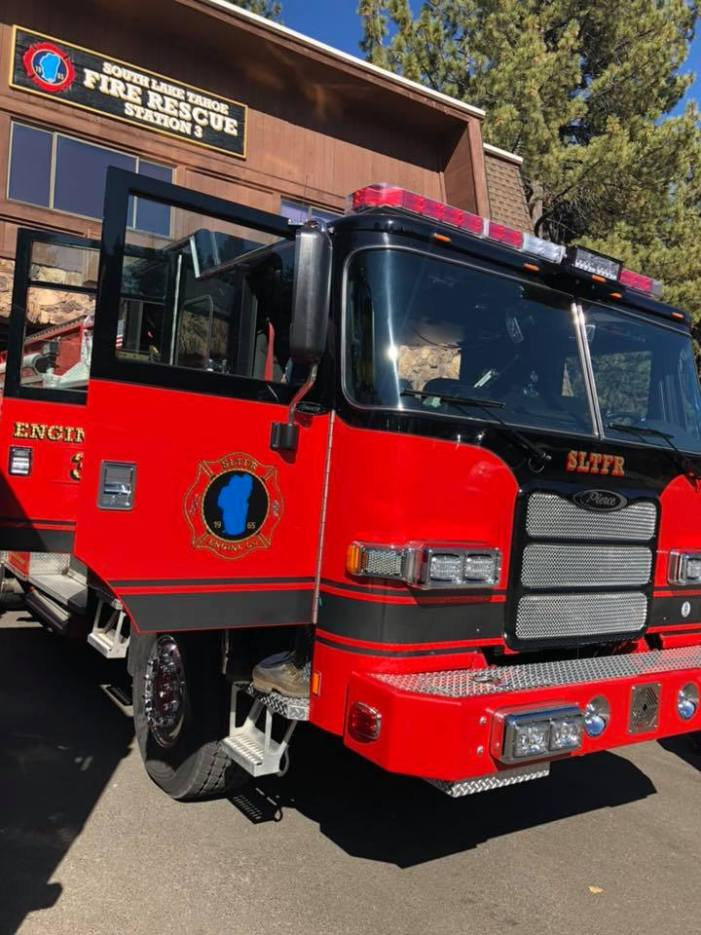 """South Lake Tahoe Fire Rescue Sends First Responders to """"Camp"""" Fire"""
