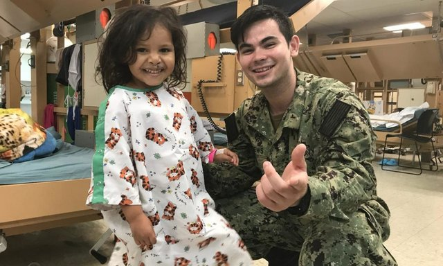 USNS Comfort Hospital Ship in Columbia Treating Refugees From Venezuela & More.